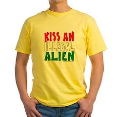 KISS ILLEGAL ALIEN T