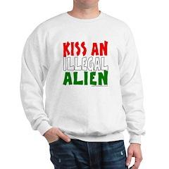 KISS ILLEGAL ALIEN Sweatshirt