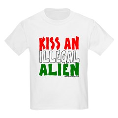 KISS ILLEGAL ALIEN T-Shirt