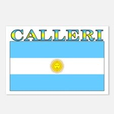 Calleri Argentina Flag Postcards (Package of 8)