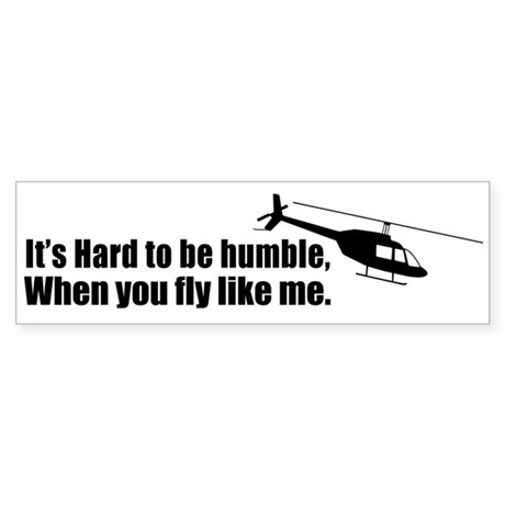 HumbleFly2 Bumper Sticker