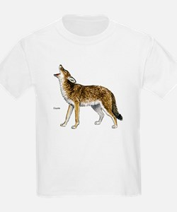 Coyote (Front) Kids T-Shirt