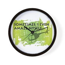 AmazeHeliMD Wall Clock