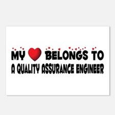 Belongs To A Quality Assurance Engineer Postcards