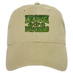 Distressed Drink Up Bitches Shamrock Cap