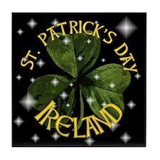 St. Patricks Day Tile Coaster