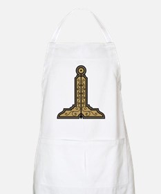 Masonic Level No. 1 on a BBQ Apron