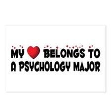 Belongs To A Psychology Major Postcards (Package o