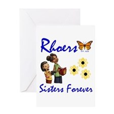 Rhoer Greeting Card