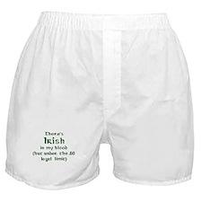 Unique Irish blood Boxer Shorts