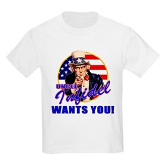 Uncle Infidel Wants You Kids T-Shirt