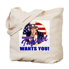 Uncle Infidel Wants You Tote Bag