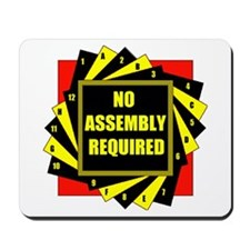 NO ASSEMBLY Mousepad