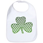 Shamrocks in Shamrock Shamrock Bib