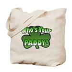 Shamrocks in Shamrock Shamrock Tote Bag