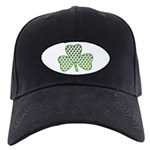 Shamrocks in Shamrock Shamrock Black Cap