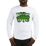 Shamrocks in Shamrock Shamrock Long Sleeve T-Shirt