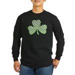 Shamrocks in Shamrock Shamrock Long Sleeve Dark T-