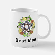 Pagan Pentagram Best Man Mug