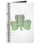 Shamrock Irish Girl Shamrock Journal