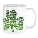 Shamrock Irish Girl Shamrock Mug