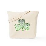 Shamrock Irish Girl Shamrock Tote Bag