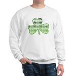 Shamrock Irish Girl Shamrock Sweatshirt