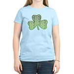 Shamrock Irish Girl Shamrock Women's Light T-Shirt