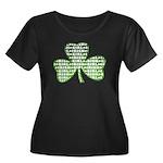 Shamrock Irish Girl Shamrock Women's Plus Size Sco