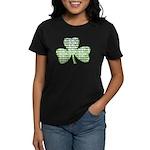 Shamrock Irish Girl Shamrock Women's Dark T-Shirt