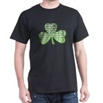 Shamrock Irish Girl Shamrock Dark T-Shirt