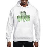 Shamrock Irish Girl Shamrock Hooded Sweatshirt