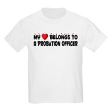 Belongs To A Probation Officer T-Shirt