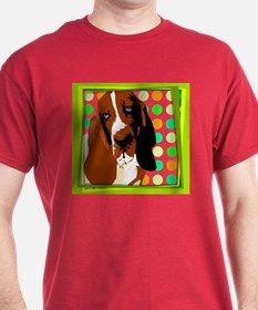 Basset Pop Art T-Shirt