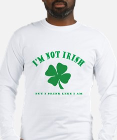 Cute St pats Long Sleeve T-Shirt