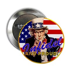 """Uncle Sam 2.25"""" Button (10 pack)"""
