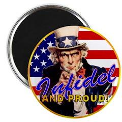 """Uncle Sam 2.25"""" Magnet (100 pack)"""