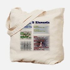 Five Asian Elements Tote Bag