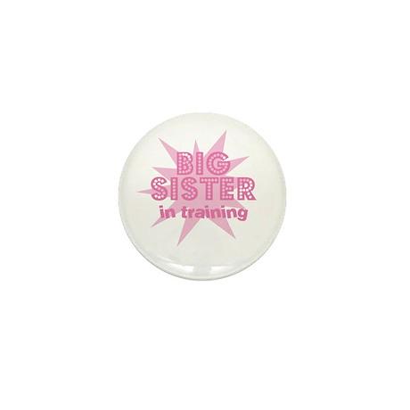 Big sister in training Mini Button
