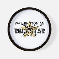 Washingtonian Rock Star Wall Clock