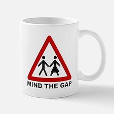Mind the Gap Mug -- The Sexes