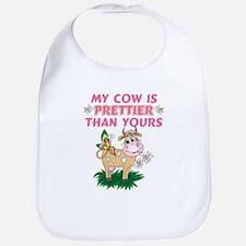 My Cow Is Prettier Bib