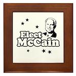 Elect McCain Framed Tile