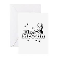 Elect McCain Greeting Card