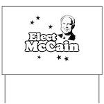 Elect McCain Yard Sign