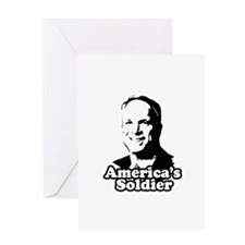 America's Soldier Greeting Card