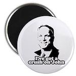 I've got a crush on John McCain Magnet