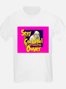 Sexy Cockatiel Owner Kids T-Shirt