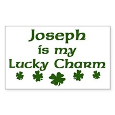 Joseph - lucky charm Rectangle Decal