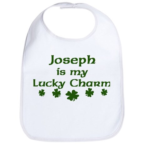 Joseph - lucky charm Bib